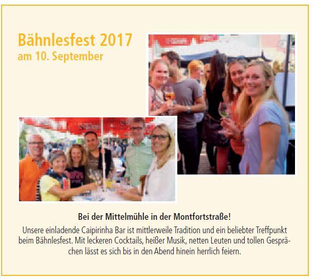 Bähnlesfest 2017