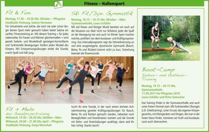 Fitness Hallensport
