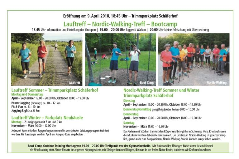 Lauftreff April 18
